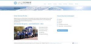 KälteSchmid Klimatechnik und Klimaanlagen in München - Webdesign und Suchmaschinenoptimierung