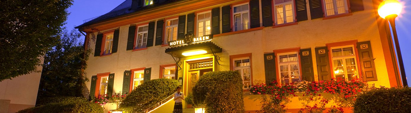 Hotel-Restaurant Bären in Trossingen | neue Webseite mit Suchmaschinenoptimierung und Responsive Design