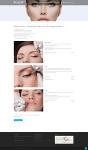 Neue Webseite für das Kosmetikinstitut Beauté de la mer in Donaueschingen